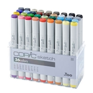 Набор маркеров Copic Sketch Set , 36 шт.