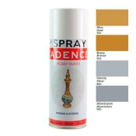 Краска спрей Cadence Gilding Spray Paint, 400 мл, алюминий